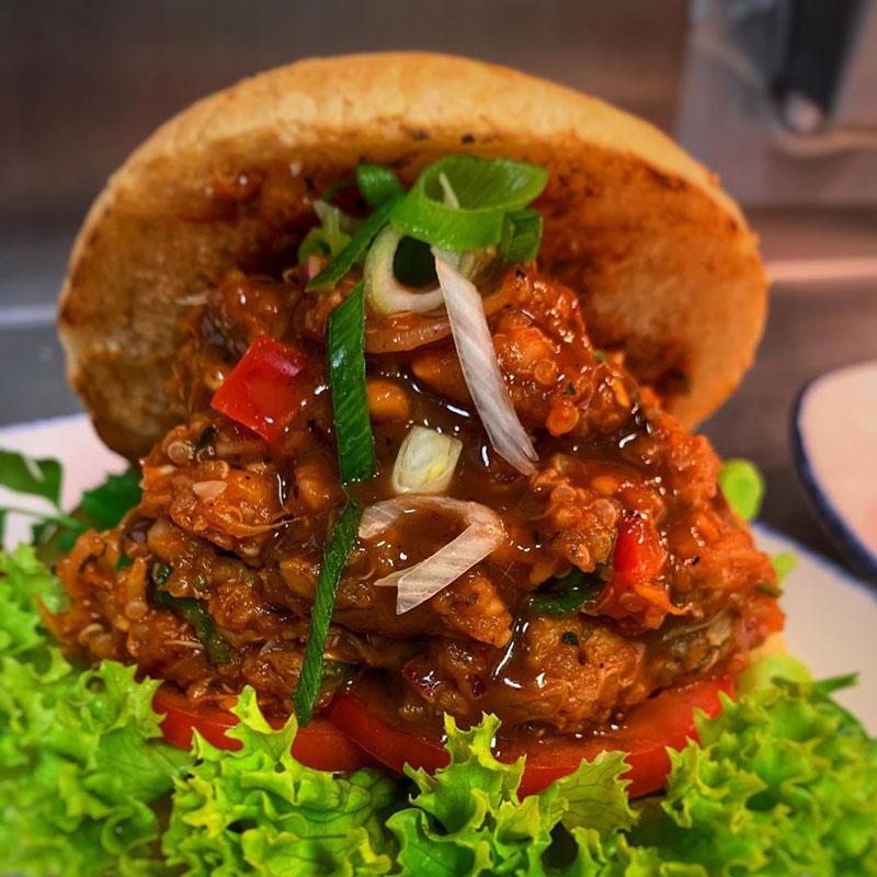 Jackfruit-Burger